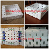 For packaging asparagus/okra/ginger/tomato PP corrugated plastic box