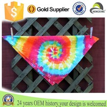 Custom fashion headband Tie Dye Bandana