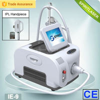 SPIRIT Aesthetic Clinic Equipment portable hair removal ipl system IE-9 spots removal/ spot treatment equipment