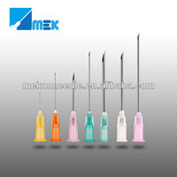 disposable needle sizes for injections