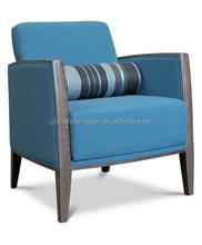 wooden restaurant lounge chair restaurant sofa chair HDL1821