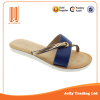 Women brand flats sandal simple soft handmade shoes