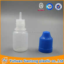 2015 BV and FDA 15ml Needle tip storage jar plastic e liquid bottle with childsafety dropper