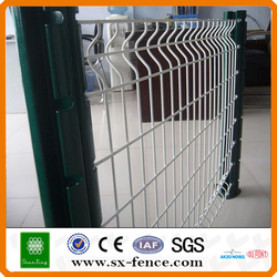 Canton Fair customers specify products with trade assurance safeguard wire mesh panels with peach posts fence
