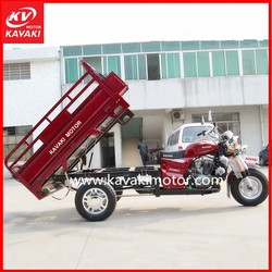 Guangzhou high speed hydraulic dumper garbage tricycle/ Self-Discharging tricycle/ unloading cargo motorcycle