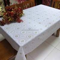 guangzhou waterproof vinyl lace table cloth, pvc lace table cloth, lace table cloth roll