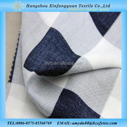 XFY super soft Lattice printed 100 cotton fabric