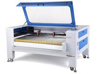 High accuracy computer embroidery printing fabric laser cutting machine 90watt