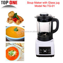 Patented 1.75L Glass Soup Maker TG-01