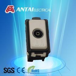 1 Gang Satellite Socket and TV Socket Outlet