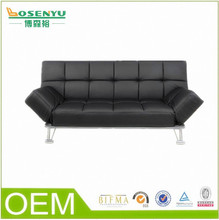 Cowhide sofa bed furniture, one person sofa bed furniture