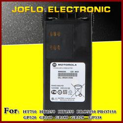 radio ni-mh battery 7.5V 1800mAH HNN9008A for GP328 GP338 radio rechargerable battery