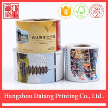 High quality color printing customed paper ticket