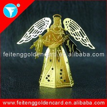 hot sell cheap high quality personalized metal Angel ornament