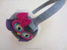 Exquisite Children Knit Kids Warm Winter Ear Muffs Cute Owl Low MOQ