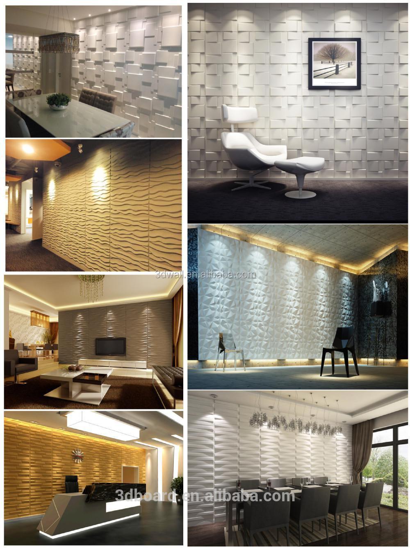 moderno arredamento arte parete 3d rivestimento murale pannelli ...