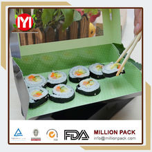 China goods wholesale custom food sushi paper packaging box