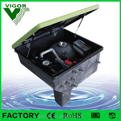 Factory pool swimming machine/swimming pool fittings/pool water treatment