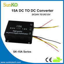 15A dc to ac converter High Quality dc dc boost converter circuit Best 220 110 voltage converter CE Compliant SunKo Converter