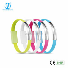 Simple and Elegant Bracelet USB Cable Flat Magnetic Charging Cable For Android Phones