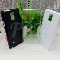 Factory sublimation 2D blank mobile cases for Samsung Galaxy Note4 case