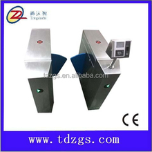 Network interface board face fingerprint mechanism of flap barrier with face recognition