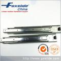 Tono de plata de aluminio deslizante de montaje cajón Rails