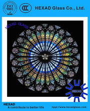 luxury stained glass dome for church