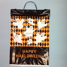 Festival plastic rigid hard handle bags