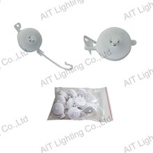 AIT-YOYO-005 small plant yoyo hangers with white pp plastic for indoor garden plant growing