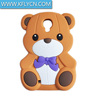 3D effect customised silicone phone case with cheap price