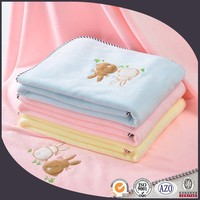 100% cotton embroider bath towel baby/for baby
