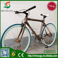 2015 retail customized all kinds style bamboo bicycle