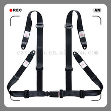 Hot selling go kart seat belts 4 points full body safety harness