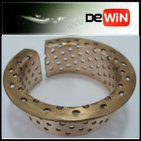metal flange oil groove bronze axle sleeve bushing