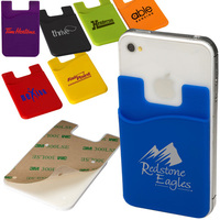 Funky card holder wallet for mobile phone with different colors