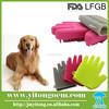 Pet Bath Massage Pet Bath Rubber Glove Brush Pet Grooming Glove Brush