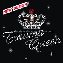 Crown Rhinestone transfer motifs iron on Clothes J 1 32