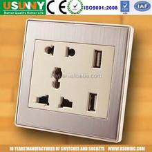USUN USB powe rWall Sockets
