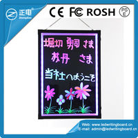 New idea outdoor advertising innovative sign portable led board