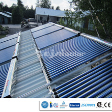 Green energy super heat pipe solar collector for hatcheries with CE, CCC, ISO9001, SRCC, Solar Keymark, CSA-F378 approval