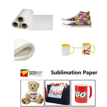 SEB White Paper Material textile transfer printing inkjet sublimation paper manufacturer