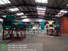 large capacity coal briquettes pressing plant with 15t/h