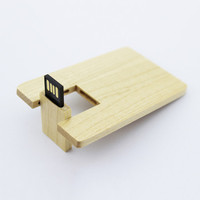 2015 china new card usb stick wood business card usb flash drive 8gb custom logo usb pens with customized picture print