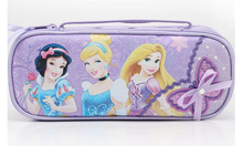 Cute cartoon pencil case with sequined bow