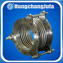 Concrete stainless steel pipe corrugated bellows duct expansion joint