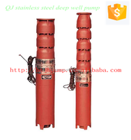 Vertical Deep Well Multistage Submersible Water Pump - Buy Multistage Submersible Pump,Deep Well Pump,Vertical Submersible Water