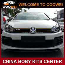Golf 6 Revozport style Fiberglass car Body Kit Front Bumper For Golf 6/R20/GTI