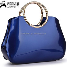 2015 spring new high-end fashion PU handbags evening bag stock wholesale manufacturers