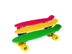 Customized Hot-sale Plastic Skateboard Longboard for Sale